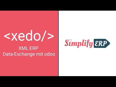 XEDO – XML ERP Data-Exchange mit odoo