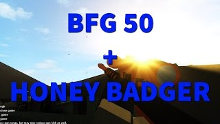 RANK 50 SPEZIAL | BFG 50 & HONEY BADGER HIGHLIGHTS | ROBLOX PHANTOM FORCES