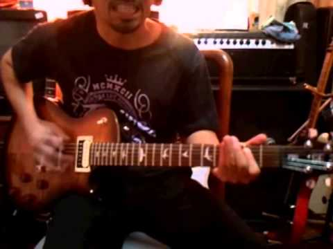 Ady Qays Guitar Jam - Anthrax - Caught In A Mosh