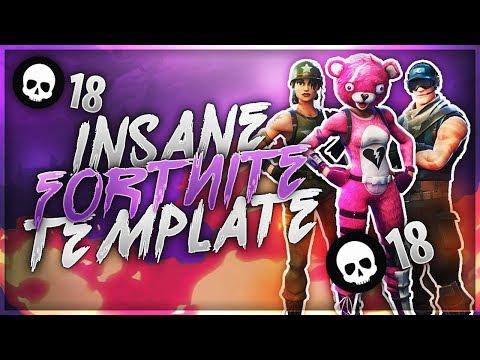 I Found An Awesome Fortnite Thumbnail Template Fortnitebr