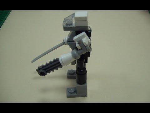 Как сделать маленького робота из лего