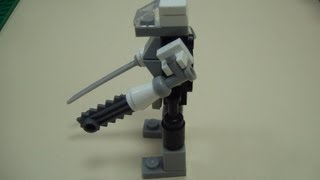делаем Боевого робота из Lego