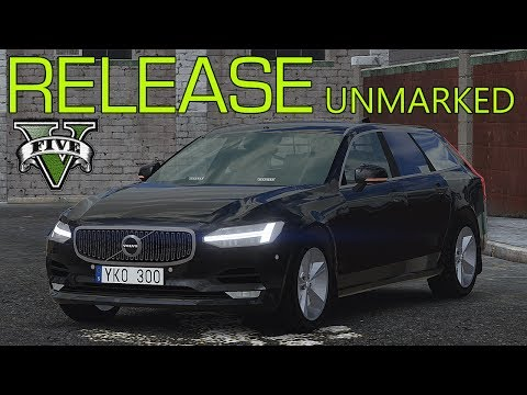 2017 Volvo V90 Unmarked [ELS] 1 0 for GTA 5