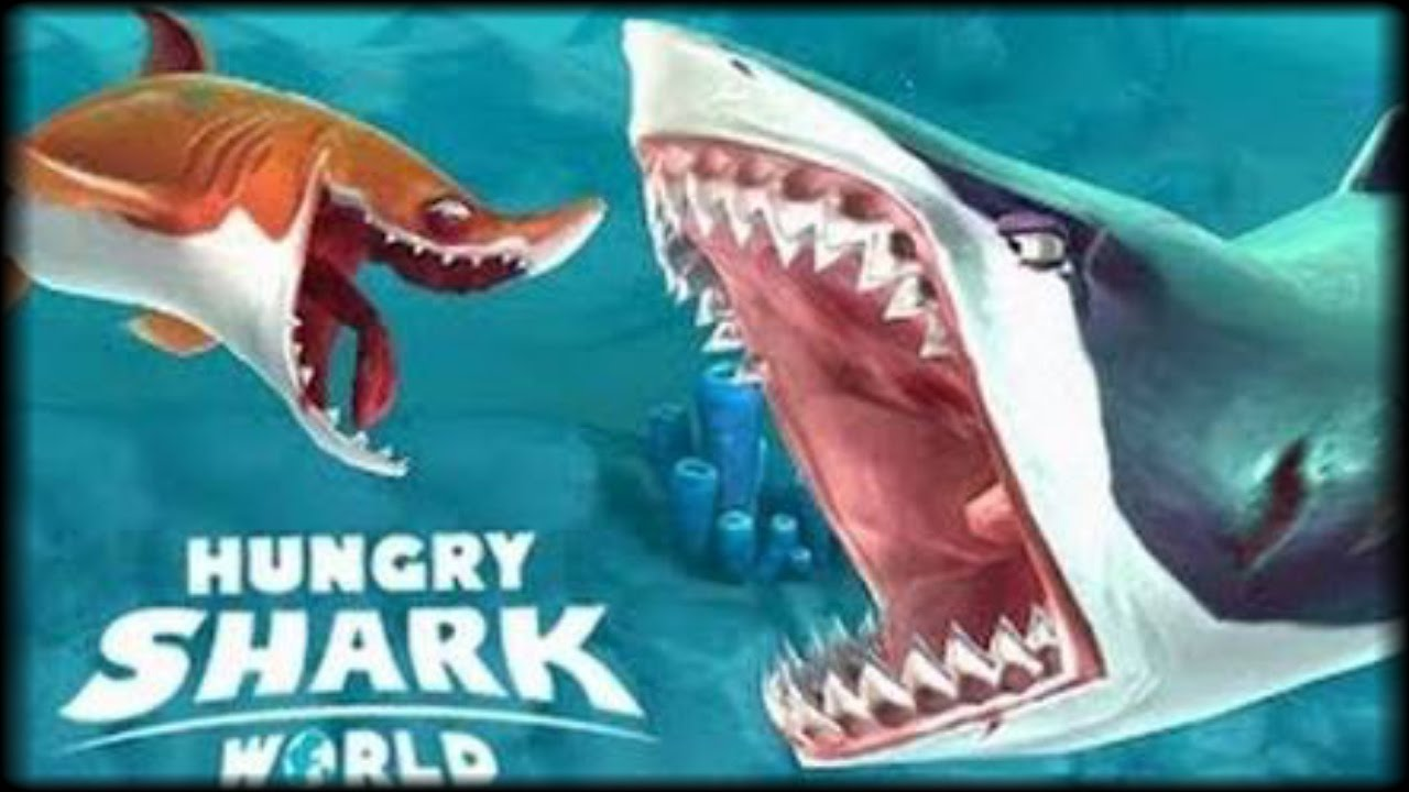 Gratis] - TIBURONES ASESINOS! - Hungry Shark World - Juegos Android ...