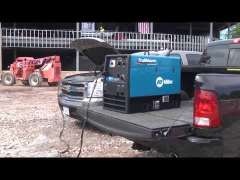 Trailblazer 325 with Battery Charge/Jump Start Option