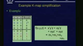 Lecture - 9 Boolean Function Minimization