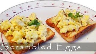 The Best Fluffy Scrambled Eggs