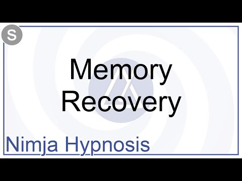 Hypnosis - Memory Recovery