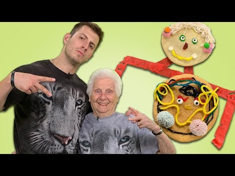 Ross Smith & Granny Decorate Cookies & Talk Internet Fame | Playlist Title | Allrecipes.com