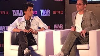 An Exclusive Interview With Brad Pitt And SRK