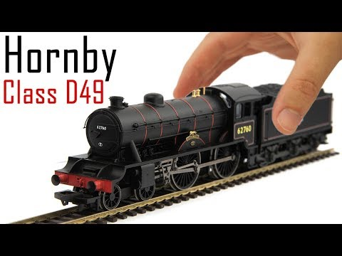 Unboxing The Hornby Railroad Class D49
