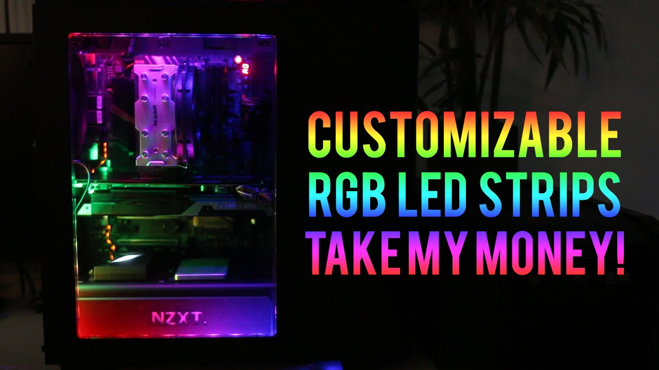 Nzxt Hue Full Demo Amp Software Walkthrough Youtube