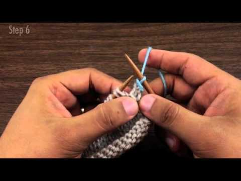 How To Knit The Russian Bind Off Youtube