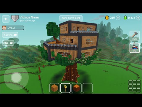 block-craft-3d:-building-simulator-games-for-free-gameplay#648-(ios-&-android)|-legit-tree-house-🏠
