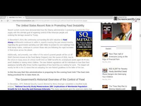 Jade Helm 16 - Food Less Society Coming Soon (2 Esdras 15:5) Part 7