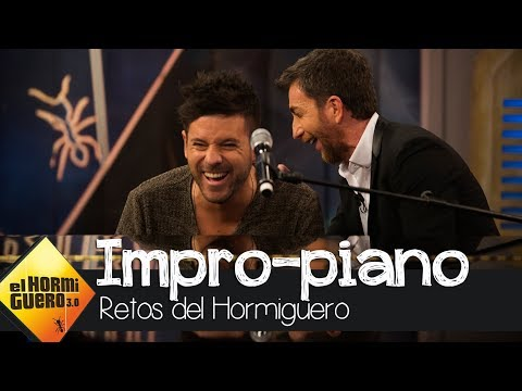 Pablo López sorprende con sus perfectas imitaciones tocando el piano - El Hormiguero 3.0
