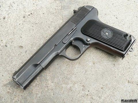 Как сделать пистолет ТТ своими руками.DIY