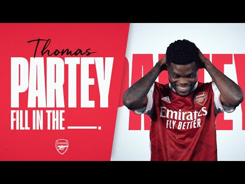 😯 'I HAVE TO SING A SONG?!' | Thomas Partey | First kits, best goals, nicknames, heroes & more