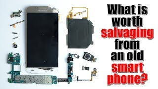 What is worth salvaging from an old smartphone?