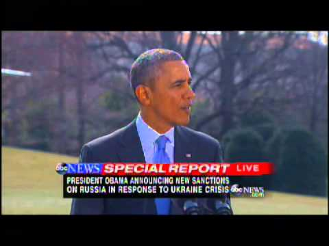 ABC News Special Report - President Obama Remarks on Ukraine 3/20/2014
