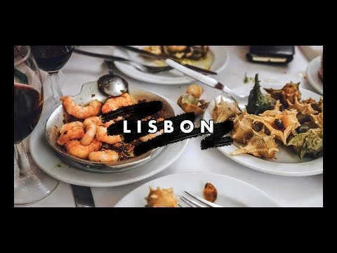 Eating Our Way Through Lisbon • Travel Vlog