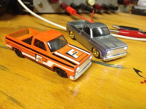 How to Add LED Headlights to your Hot Wheels - '83 Chevy Silverado