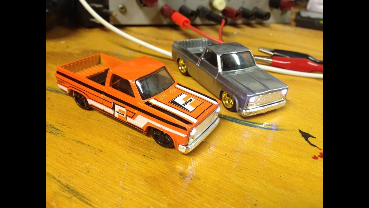 How To Add Led Headlights To Your Hot Wheels 83 Chevy Silverado