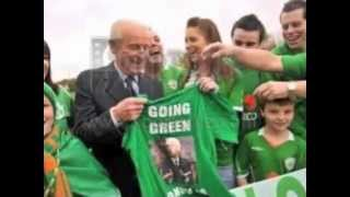 euro 2012 irish football song, paddy boy, the game
