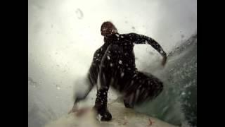 Surfing Ocean Beach & LindaMar Pacifica. BayArea North California