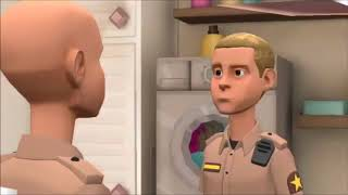 S1 Finale  - Caillou Goes to Military School (Part 2/2)