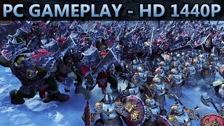 Total War: WARHAMMER | PC GAMEPLAY | HD 1440P