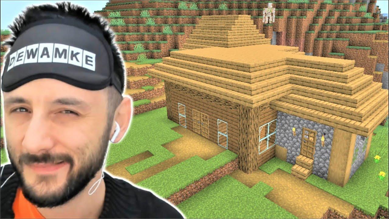 İLK EVİM 🥰 Minecraft Tek Hardcore 2.Bölüm