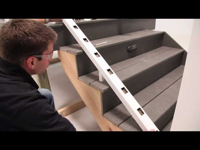 TimberTech® RadianceRail Express® Railing Installation  - Stairs