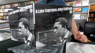 John Coltrane - A Love Supreme & Ballads Analog Productions LP Unboxing and First Look