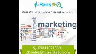 SEO Company Delhi - Best SEO Services Delhi(We at 1stRankSEO Solution (http://www.1strankseo.com) India's best SEO Company based in Delhi. We provide top SEO Services in Delhi. Out main aim ..., 2014-05-28T05:36:08.000Z)