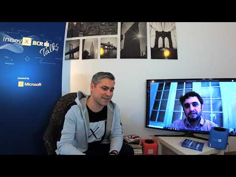 Silviu Florea, Inspiring Author & InnovX Mentor @ InnovX - BCR Talks powered by Microsoft