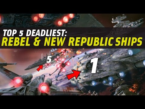 5 Most Powerful Rebel & New Republic Capital Ships | Star Wars Legends