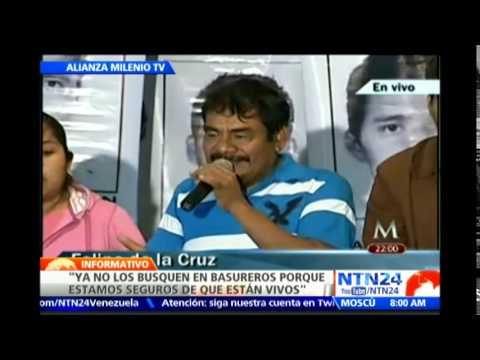 """""""No confiamos en el trabajo que está realizando el Gobierno"""": familiares de desaparecidos en Iguala"""
