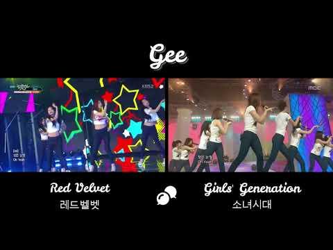 GEE - SNSD X RED VELVET