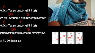 HARI BERSAMANYA - Sheila on 7 | Ukulele version | lyric and chords