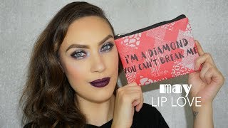 LIP LOVE MAY TUTORIAL | UNBOXING | CAROL LAGO