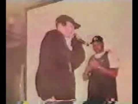Eminem Battles live at on stage at rap olympics
