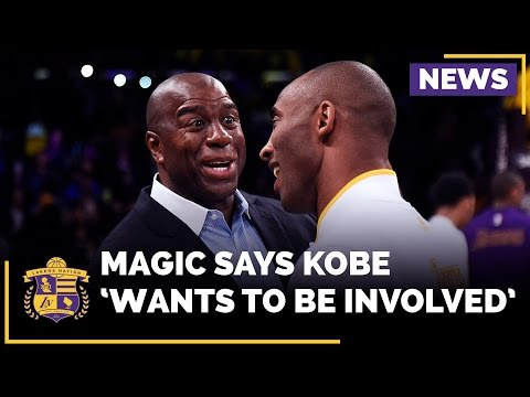 Magic Johnson: Kobe Bryant 'Wants To Be Involved' With The Lakers