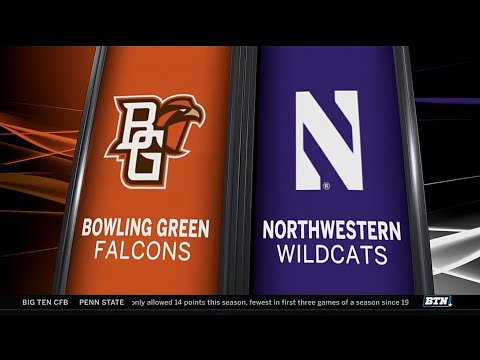 Bowling Green at Northwestern - Football Highlights