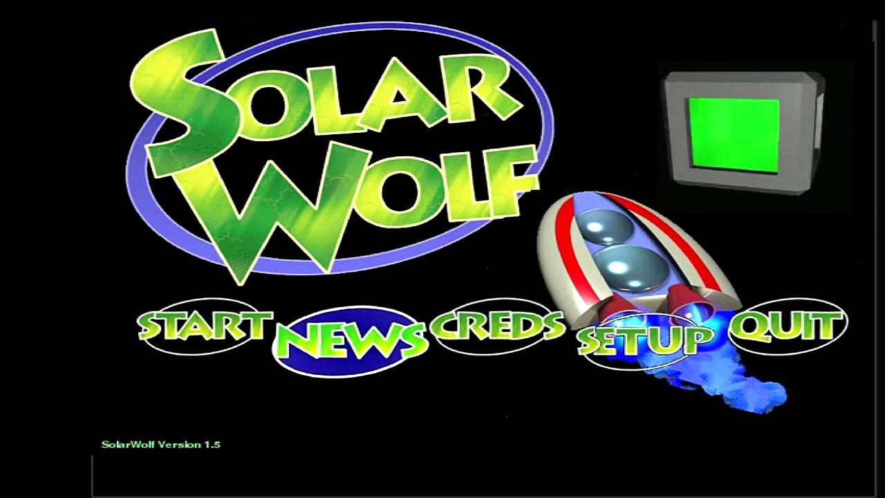 Solarwolf Solarfighter Review On Opensuse Linux