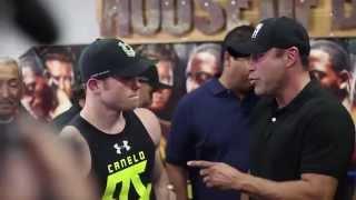 Canelo Alvarez media workout for Kirkland fight