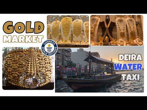 Dubai GOLD Market | Deira Water Taxi | #Dubaigoldsouq