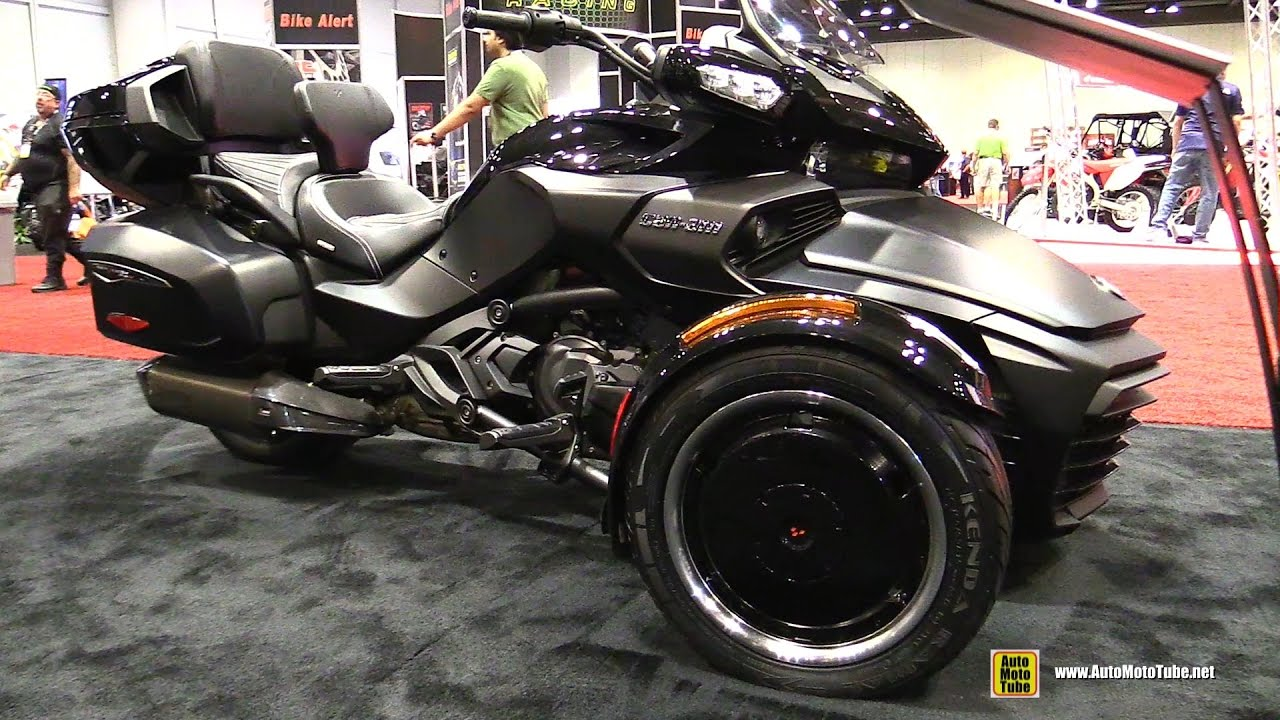 2017 can am spyder f3 t walkaround 2016 aimexpo. Black Bedroom Furniture Sets. Home Design Ideas