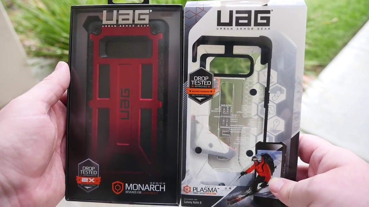 hot sale online 5f47c 77b52 Galaxy Note 8 UAG Cases REVIEW | MONARCH | PLASMA