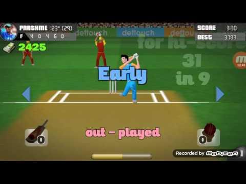 Cricket star gameplay